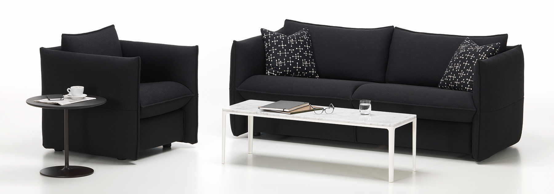 Vitra Mariposa Chair and Sofa